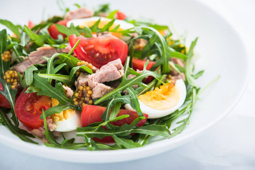 lifestyle advice and nutrition counselling - salad
