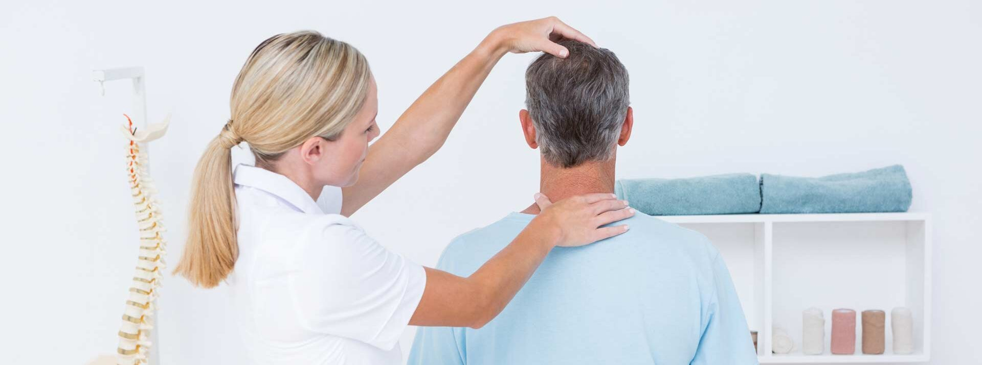 chiropractic care - neck pain